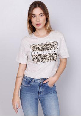 Camiseta-Estampada-Manga-Curta-Onca-Influencer-Bege-PP