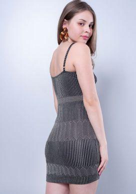 Vestido-Curto-Jacquard-Preto-M-