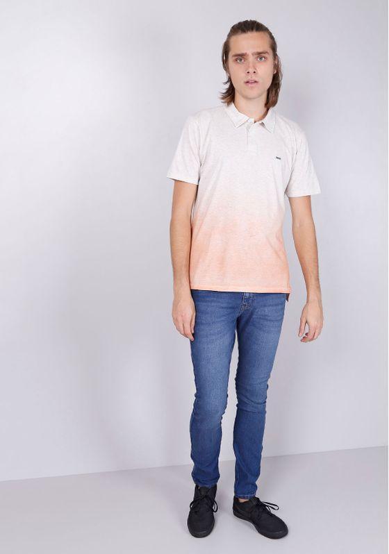 Camisa-Polo-Manga-Curta-Degrade-Laranja-Gang-Masculina-Bege-PP