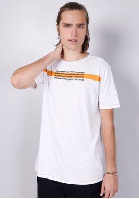 Camiseta-Estampada-Manga-Curta-Faixa-Laranja-Branco-PP