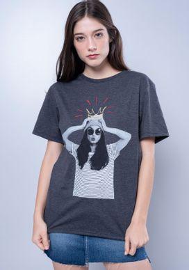 Camiseta-Estampada-Manga-Curta-Divertida-Cinza-PP