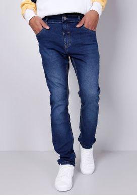 Calca-Jeans-Slim-Azul-Medio-Gang-Masculina-Azul-34