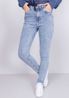 Calca-Jeans-Skinny-Cintura-Alta-Marmo-Delave-Gang-Feminina-Azul-32