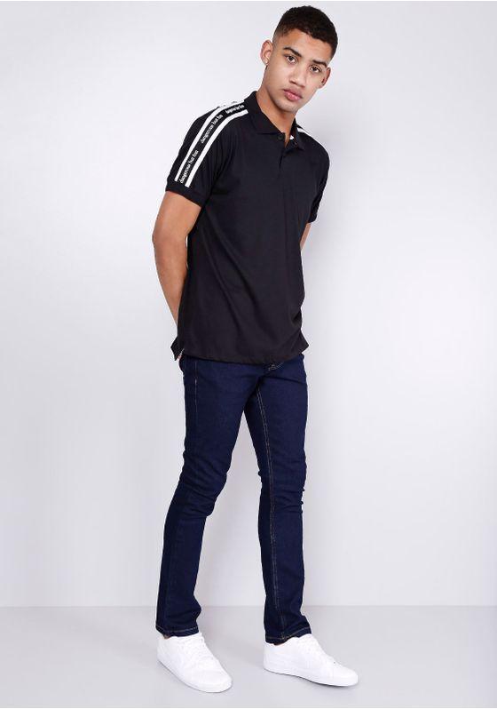Calca-Jeans-Slim-Amaciada-Azul-Escuro-Gang-Masculina-Azul-40