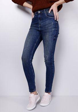 Calca-Skinny-Cintura-Alta-Blue-Escuro-Pinados-Gang-Feminina-Marinho-32