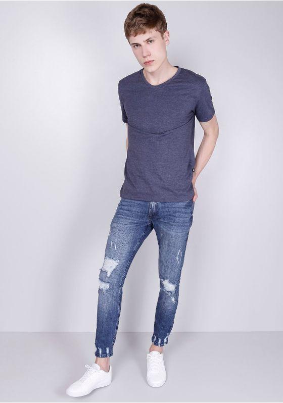 Camisa-Basica-Manga-Curta-Azul-Marinho-Gang-Masculina-Marinho-PP