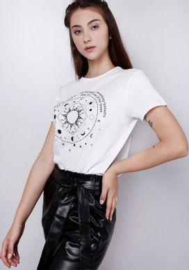 T-shirt-Branco-Silk-Mistico-Gang-Feminina-Branco-GG