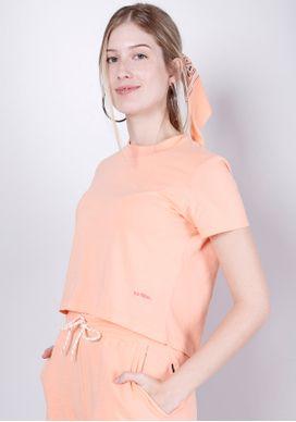 Blusa-Basica-Apricot-Com-Bandana-Gang-Feminina-Laranja-PP
