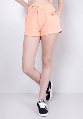 Shorts-Moletinho-Apricot-Gang-Feminino-Laranja-PP