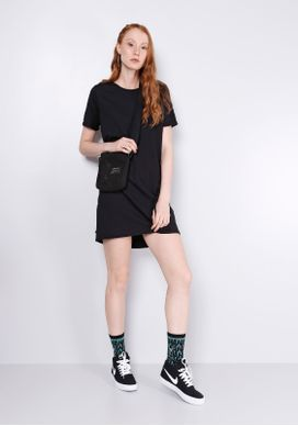 Vestido-Basico-T-shirt-Preto-Gang-Feminino-Preto-M-