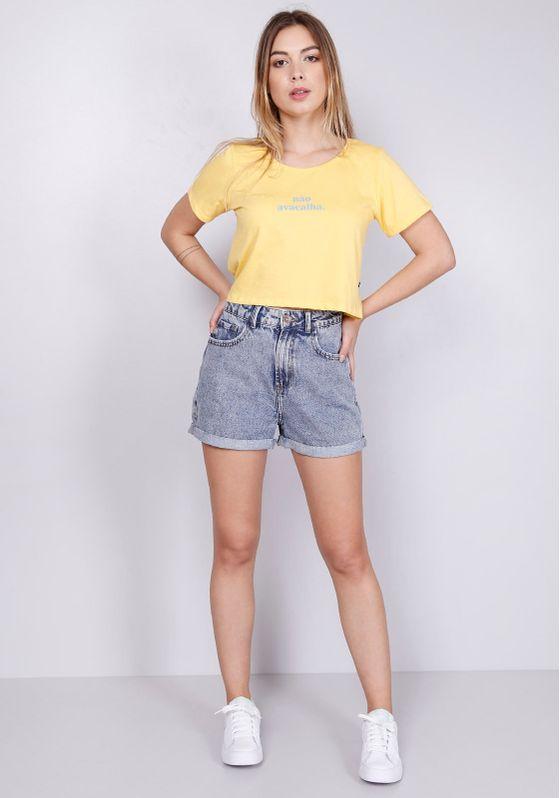 Blusa-Cropped-Amarela-Nao-Avacalha-Gang-Feminina-GG