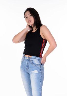 Blusa-Cropped-Canelado-Preto-Fita-Vermelha