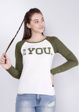 Camiseta-Raglan-Manga-Longa-For-You