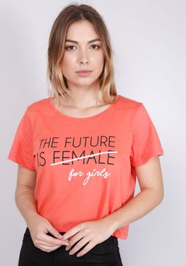 Blusa-Cropped-Estampada-Manga-Curta-The-Future-Is-For-Girls