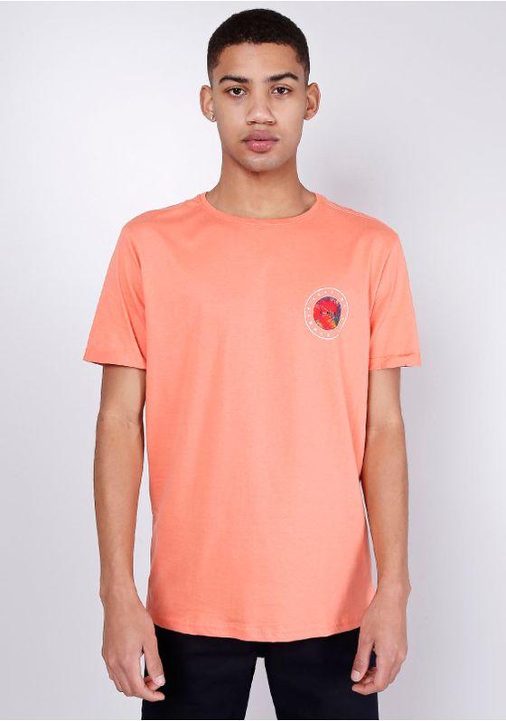 Camiseta-Estampada-Manga-Curta-Coral-Silk-Tie-Dye-Gang-Msculina