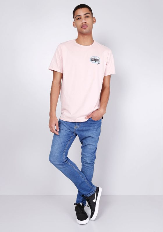 Camiseta-Estampada-Manga-Curta-Silk-Peito-Rosa-Gang-Masculina