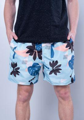 Short-De-Banho-Estampado-Reversivel-Floral-Azul-Gang-Masculino