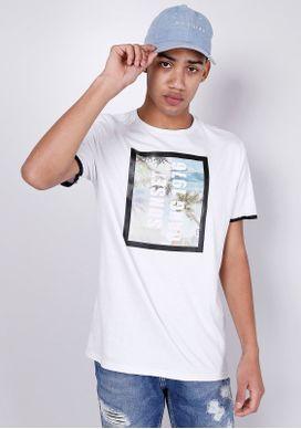 Camiseta-Estampada-Manga-Curta-Aplicacao-Tropical-Branca-Gang-Masculina