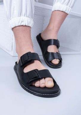 Sandalia-Flat-Preta-Gang-Feminina