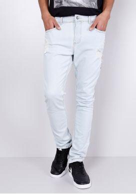 Calca-Jeans-Skinny-Delave-Puidos-Azul-Claro-Gang-Masculino