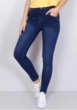 Calca-Jeans-Cigarrete-Push-Up-Used-Azul-Escuro-Gang-Feminina