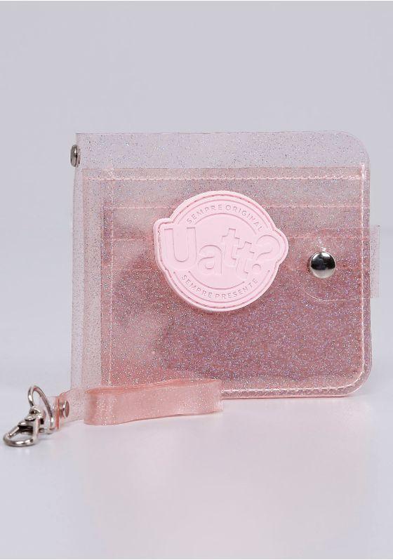 Carteira-Cristal-Glitter-Uatt-Rosa