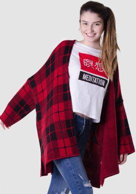 Casaco-Kimono-Xadrez-Preto-E-Vermelho