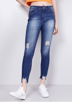 Calca-Jeans-Skinny-Rasgos-Azul-Escuro