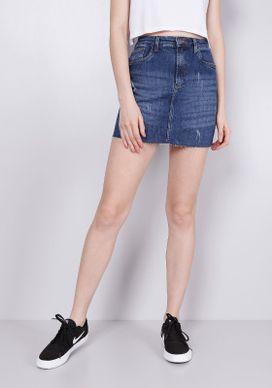 Saia-Jeans-Azul-Medio-Unha-De-Gato