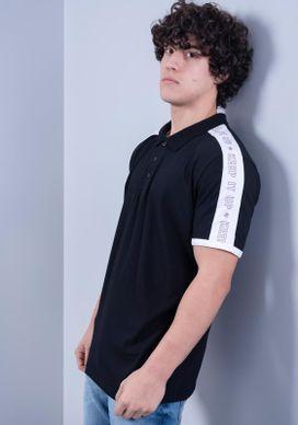 Camisa-Polo-Manga-Curta-Com-Faixa-Ombro-Preta-Gang-Masculina