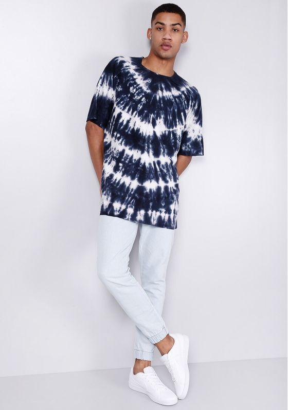 Camiseta-Estampada-Tie-Dye-Azul-Gang-Masculina