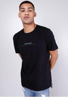 Camiseta-Estampada-Braile-Preta-Gang-Masculina
