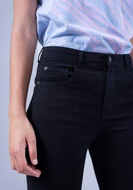 Calca-Jeans-Skinny-Cintura-Media-Preta-T400