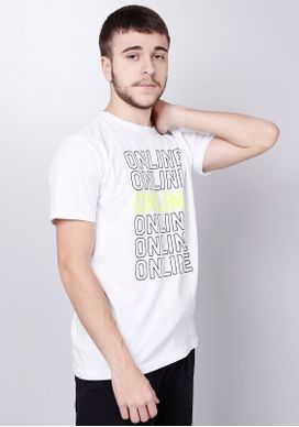 Camiseta-Estampada-Manga-Curta-Online-Neon