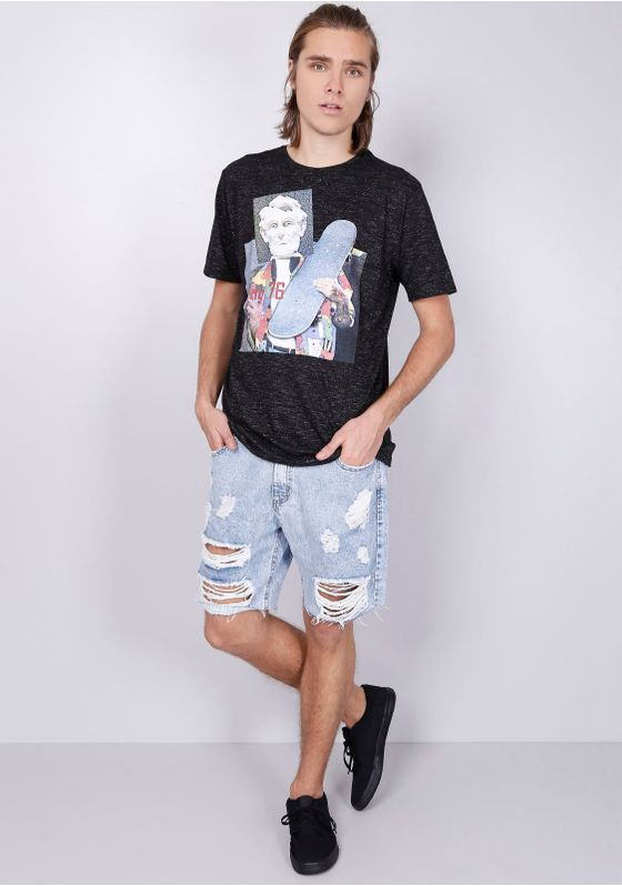 Camiseta-Estampada-Manga-Curta-Lincoln-Skatista