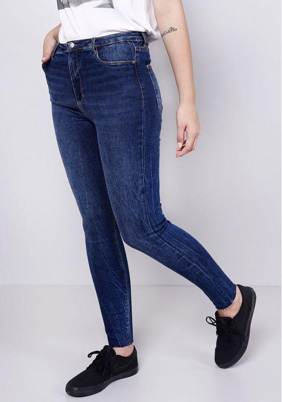 Calca-Jeans-Barra-a-Fio-Blue-Escura-Gang-Feminina