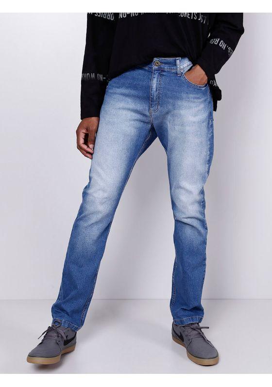 Calca-Jeans-Slim-Blue-Claro-Gang-Masculina