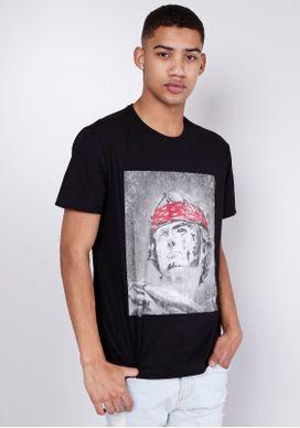 Camiseta-Estampada-Manga-Curta-Romana-Bandana-Gang-Masculina