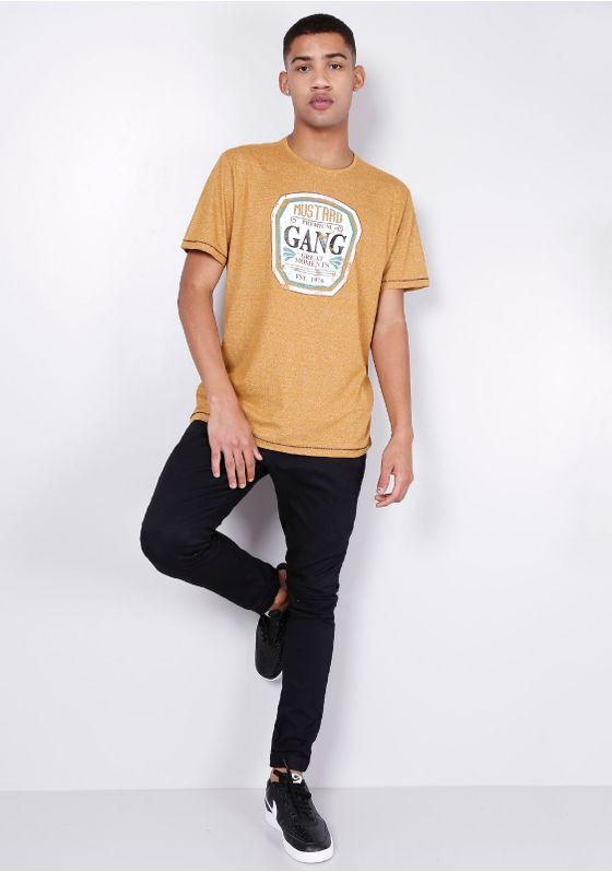 Camiseta-Estampada-Silk-Mustard-Manga-Curta-Mostarda-Gang-Masculina