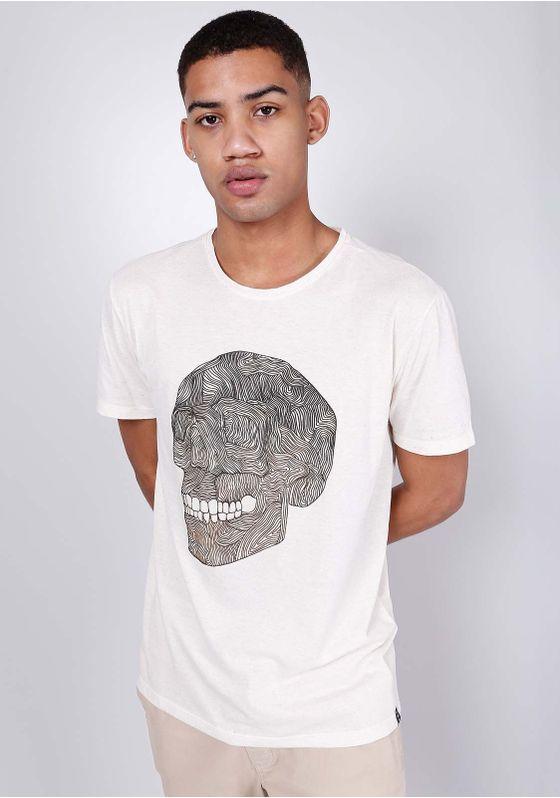 Camiseta-Estampada-Caveira-Digital-Manga-Curta-Off-White-Gang-Masculina