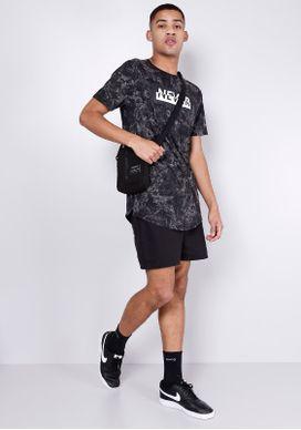 Camiseta-Estampada-Marmorizada-Preta-Gang-Masculina