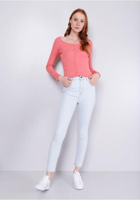 Calca-Jeans-Cigarrete-Azul-Claro-Gang-Feminina