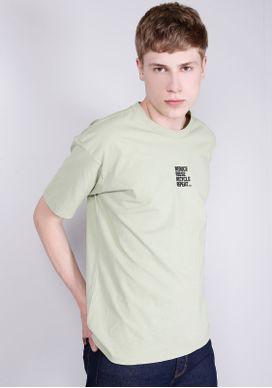 Camiseta-Manga-Curta-Verde-Gang-Masculina
