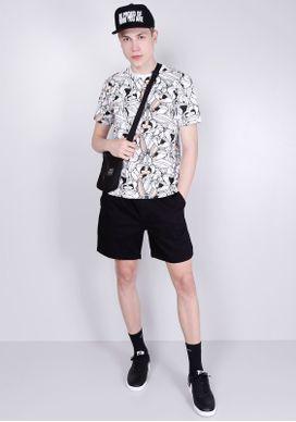 Camiseta-Manga-Curta-Pernalonga-Branca-Gang-Masculina