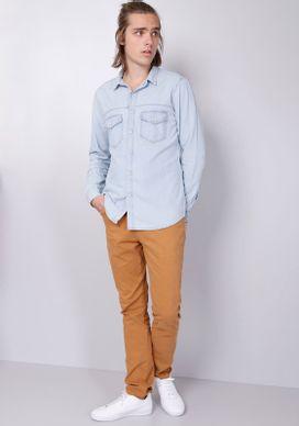 Camisa-Jeans-Delave-Bolsos-Lapela
