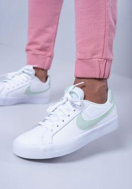 Tenis-Nike-Court-Royale-Branco-e-Menta-Feminino