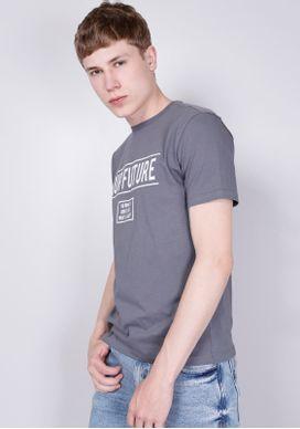 Camiseta-Manga-Curta-Cinza-Gang-Masculina