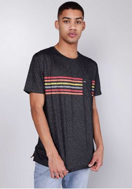Camiseta-Manga-Curta-Listras-Coloridas-Cinza-M