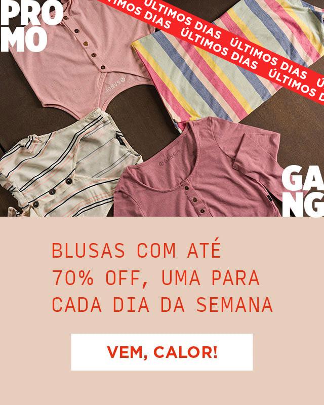(MOB) PromoGang Blusas